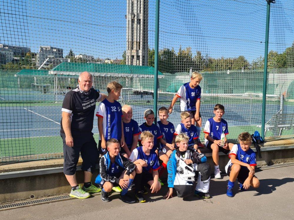 Mladší žáci dobyli Prahu!